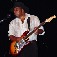 David Gerald rockin' his Blues